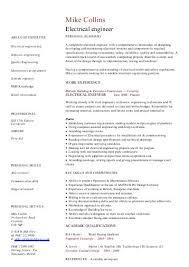 SAP CV template sample - Dayjob Electrical engineer CV template - Dayjob