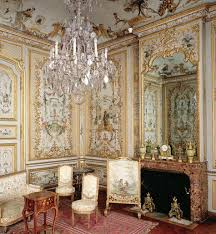 France's Chteau de Chantilly boasts a marvelous example of painted  singerie, a fanciful style of