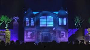 haunted house lighting effects. phish performs a halloween set along to the 1964 disneyland record u0027chilling thrilling sounds of haunted houseu0027 house lighting effects