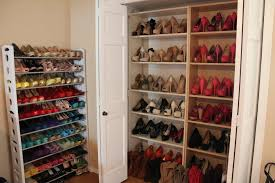 shoe racks for a closet