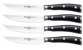 wusthof classic ikon steak knives. Delighful Classic Classic Ikon 4 Piece Steak Knife To Wusthof Knives