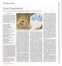 drawing on deadline new york times book review great news my new book a boy called dickens got a very nice review in the nyt book review this sunday here is a preview of how it will appear in print