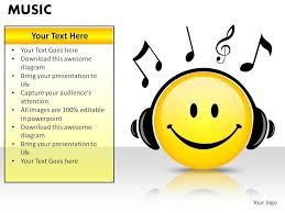 Music Powerpoint Template Music Powerpoint Presentation Slides Powerpoint Templates