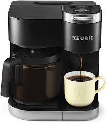 Buy electronics, apparel, books, music & more. Amazon Com Keurig K Duo Coffee Maker Single Serve And 12 Cup Carafe Drip Coffee Brewer Compatible With K Cup Pods And Ground Coffee Black Kitchen Dining