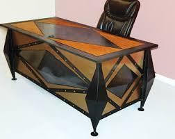 industrial modern office furniture. modern industrial desk, steampunk executive computer home desk for office furniture