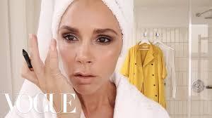 victoria beckham s five minute face beauty secrets vogue