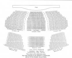 Soundboard Seating Chart Seating Chart Friends Of The Performing Arts Center