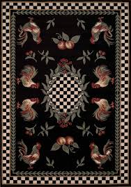 rooster area rugs kitchen ideas photos to cowhide rug rustic cabin wildlife decorative items leather western lodge
