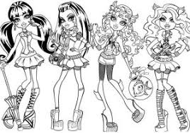 Cool Gil Webber Little Boy Monster High Coloring Page Free