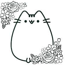 Cute Anime Cat Coloring Pages Cute Cat Coloring Pages Elegant Anime