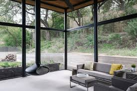 austin modern decorations sunroom with contemporary design rectangular area rugs white walls