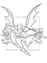 Batman Robin En Batgirl Kleurplaat Jouwkleurplaten