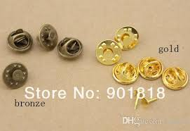 XINYAO <b>50sets lot</b> Copper Gold Silver Color Brooch Base Holder ...