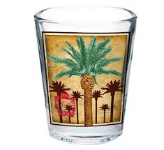 grand palm shot glass