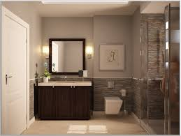 small bathroom guest remodel mesmerizing dark elegant paint color ideas brown cabinets white intended for
