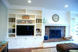 built in bookcases around fireplace built cabinets around fireplace