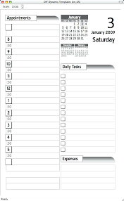 Days Of The Week Calendar Template Single 5 Day Excel Tem