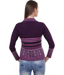 ... Sportking Aubergine Color Sweater For Women