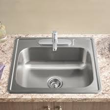 Colony Top Mount Ada 25x22 Single Bowl Stainless Steel 3 Hole