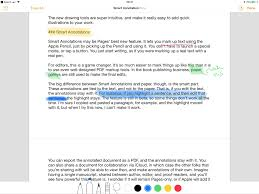 How to use Apple Pencil with Pages on iPad: Smart Annotations, drawings