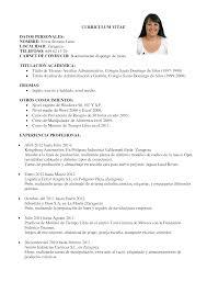 Curriculum Vitae Compacto Curriculum Entrevista Trabajo