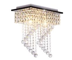 Dellemade 2 Leuchtet Kristall Kronleuchter Modern Deckenleuchte Für Treppenhaus Bar Küche Esszimmer Kinderzimmer