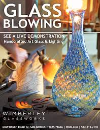glass lighting and art glass studio by wimberley glassworks in san marcos texas