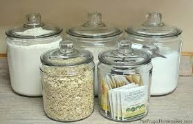 anchor hocking glass jars adding some chalkboard label fun to my canisters the are these with