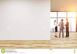 office wall. Blank Office Wall Toning
