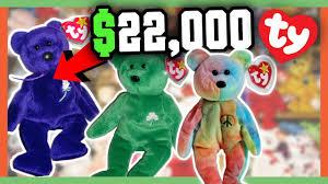 rare beanie es worth money 90 s childhood toys worth a fortune