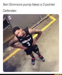 - Ifunny Ben Fakes Pump Simmons Defender 3 A Pointer