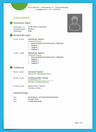 Modern Cv Template For Word Moderne Lebenslauf Vorlage Fr Word Cv