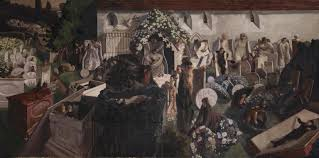 sir stanley spencer the resurrection cookham 1924 7