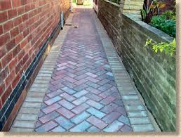 Herringbone Brick Pattern Amazing Pavingexpert AJ McCormack And Son Setting Out Herringbone Paving