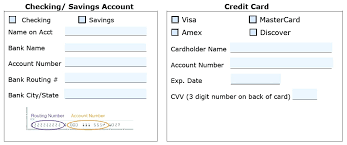 New Customer Account Form Template Template Account Form Template 13