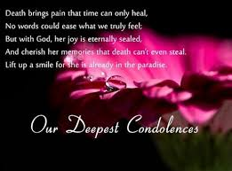 Condolences Quotes Classy The 48 Condolence Quotes WishesGreeting