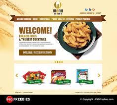Restaurant Menu Free Psd Template Psdfreebies Com