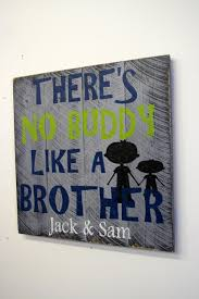 Personalized Bedroom Decor Boys Bedroom Custom Sign Personalized Pallet Theres No Buddy Like