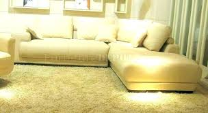 modern yellow leather sectional sofa mustard adjustable headrests taupe contemporary orange faux