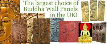 buddha statues and ornaments wooden buddha wall art panels and plaques for the home and garden