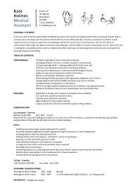 Brilliant Sample Entry Level Medical Assistant Resume Summary And Good  Format 6 Entry Level Medical Assistant
