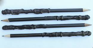 picture of harry potter wand pencils