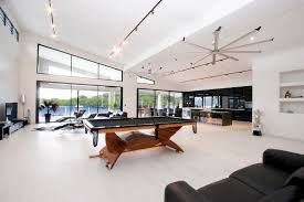 terrific line modern track lighting. Family Pool Table Room Contemporary With Ceiling Fan Top Of The Line V- Terrific Modern Track Lighting