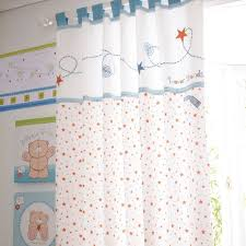 izziwotnot lined tab top curtains blue