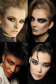 fotd 80s inspired strong cat eye makeup look