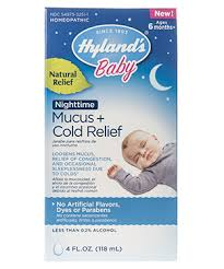 Hylands Baby Nighttime Mucus Cold Relief Hylands