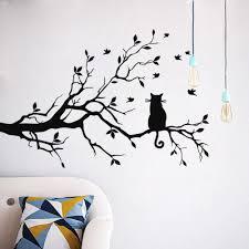 tree wall decor art youtube: online get cheap d wall birds aliexpress