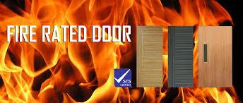 picture fire rated door