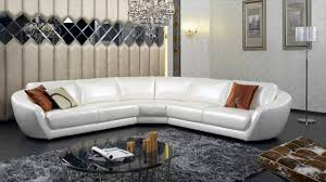 modern white living room furniture. Modern Italian Leather Furniture White Living Room E