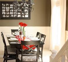 Furniture: Decorate Dining Table Photo Decorating A Dining Room